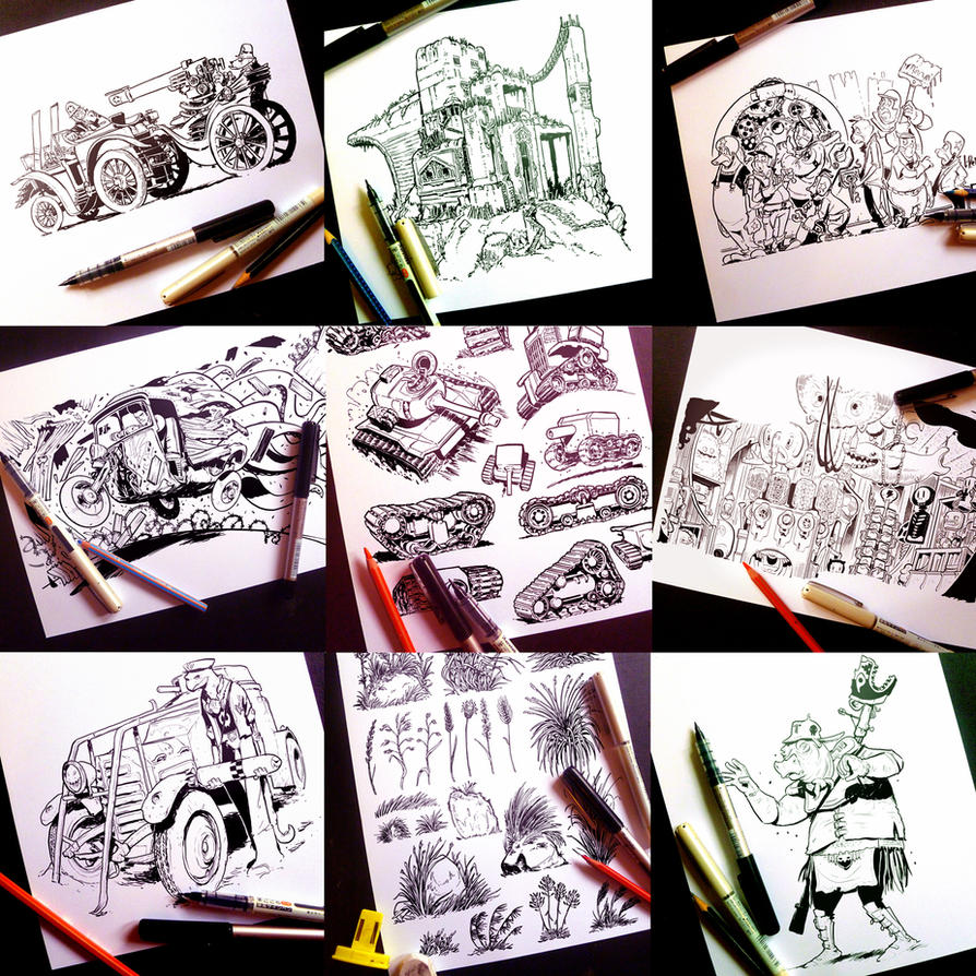 Instagram, Twitter and Tumblr sketches part THREE by STUDIOBLINKTWICE