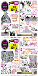 How to draw TREE ROOTS tutorial by EtheringtonBrothers