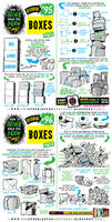 How to draw BOXES tutorial