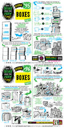 How to draw BOXES tutorial by EtheringtonBrothers