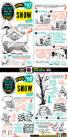 How to draw SNOW tutorial