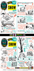How to draw SNOW tutorial by EtheringtonBrothers