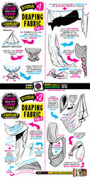How to draw DRAPING FABRIC tutorial by EtheringtonBrothers