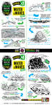 How to draw WATER and WAVES tutorial by EtheringtonBrothers