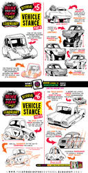 How to draw VEHICLE STANCE tutorial by EtheringtonBrothers
