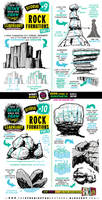 How to draw ROCK FORMATIONS tutorial by EtheringtonBrothers