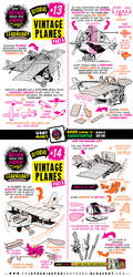 How to THINK when you draw VINTAGE PLANES tutorial by EtheringtonBrothers