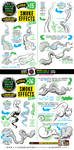 How to draw SMOKE EFFECTS tutorial by EtheringtonBrothers