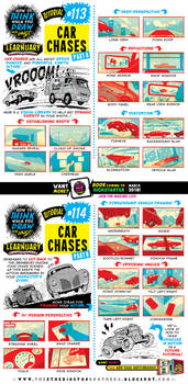 How to draw CAR CHASES tutorial