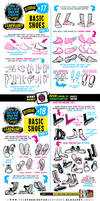 How to draw FEET and SHOES tutorial by EtheringtonBrothers