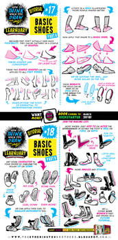 How to draw FEET and SHOES tutorial