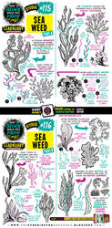How to draw SEAWEED tutorial by EtheringtonBrothers