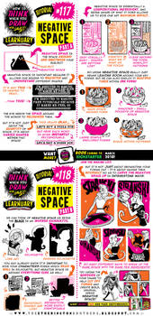 How to draw NEGATIVE SPACE tutorial by EtheringtonBrothers