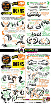 How to draw HORNS tutorial by EtheringtonBrothers