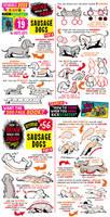 How to draw SAUSAGE DOGS, KICKSTARTER has 19 days!