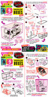 How to draw PERSPECTIVE BOXES - 1 WEEK KICKSTARTER by EtheringtonBrothers