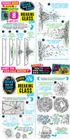 How to draw BREAKING GLASS - KICKSTARTER LIVE NOW!