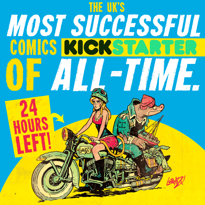 UK's MOST SUCCESSFUL KICKSTARTER of ALL-TIME! by STUDIOBLINKTWICE