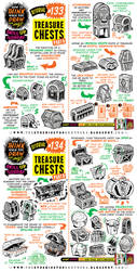 How to draw TREASURE CHESTS tutorial by EtheringtonBrothers