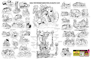37 VEHICLES! by EtheringtonBrothers