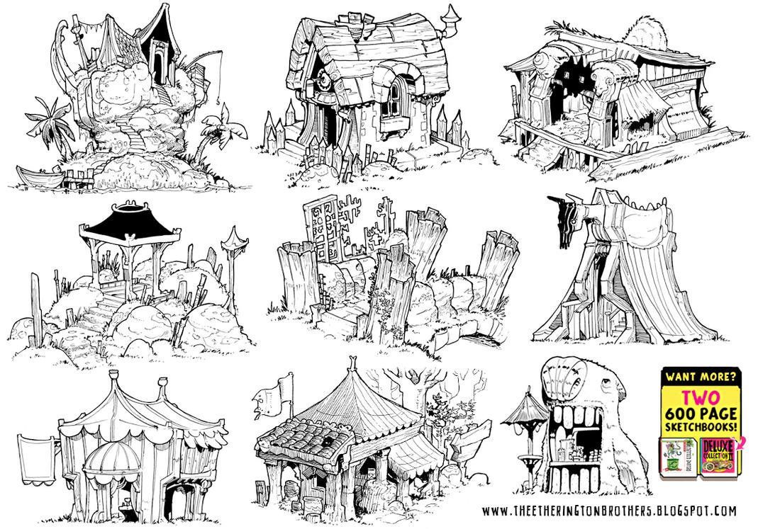 9 Environment Concepts! by STUDIOBLINKTWICE