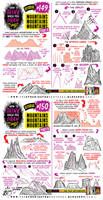 How to draw MOUNTAINS tutorial by EtheringtonBrothers