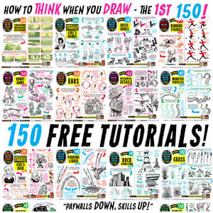 Links to EVERY ONE of my 150 FREE TUTORIALS!