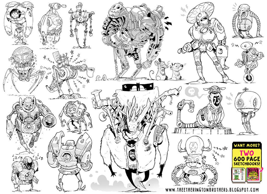 17 ROBOTS! by STUDIOBLINKTWICE