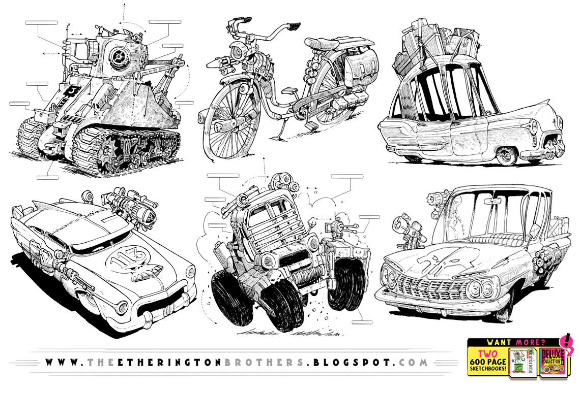 SIX WEIRD VEHICLE REFERENCES! by EtheringtonBrothers
