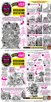 How to  draw OVERGROWN VEGETATION tutorial by EtheringtonBrothers