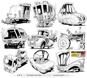 6 GIANT VEHICLE REFERENCES! by EtheringtonBrothers