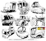6 GIANT VEHICLE REFERENCES!