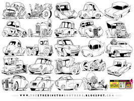 24 VEHICLE REFERENCES! by EtheringtonBrothers