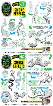 How to draw SMOKE EFFECTS tutorial