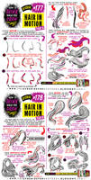 How to draw HAIR IN MOTION tutorial by EtheringtonBrothers