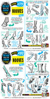 How to draw HOOVES tutorial