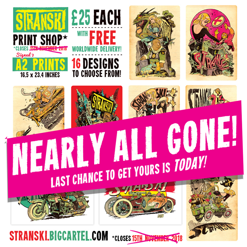 Stranski prints available for just ONE MORE DAY! by STUDIOBLINKTWICE