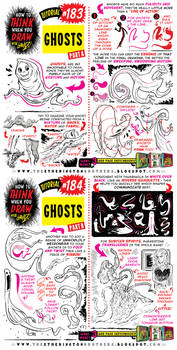 How to THINK when you draw GHOSTS tutorial