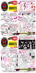 How to THINK when you draw GHOSTS tutorial by EtheringtonBrothers