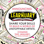 Announcing LEARNUARY an ENTIRE MONTH of TUTORIALS!