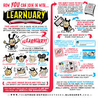 Here's how YOU can JOIN IN with #LEARNUARY! by EtheringtonBrothers