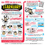 Here's how YOU can JOIN IN with #LEARNUARY!