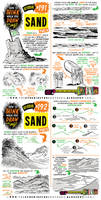 How to THINK when you draw SAND tutorial
