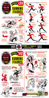 How to THINK when you draw RUNNING FIGURES