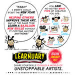 #LEARNUARY begins in FIVE DAYS!