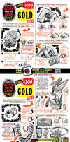 How to draw GOLD for #LEARNUARY!