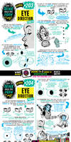 How to draw EYE DIRECTION tutorial for #LEARNUARY!