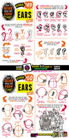 How to draw EARS tutorial for #LEARNUARY!