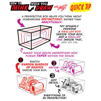 How to use PERSPECTIVE BOXES QUICK TIP! by EtheringtonBrothers