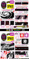 How to draw SPACE tutorial for #LEARNUARY!